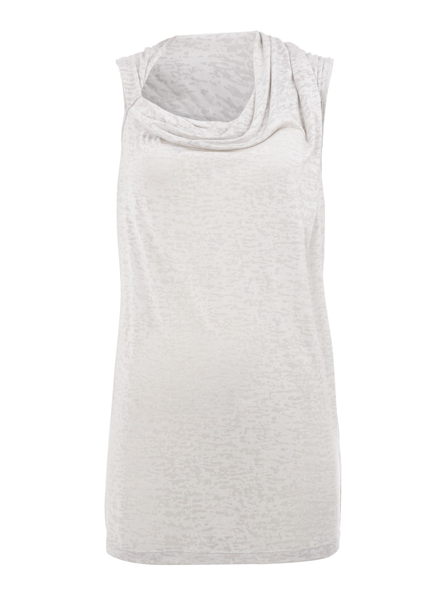 Burnout Drape Shoulder Tank