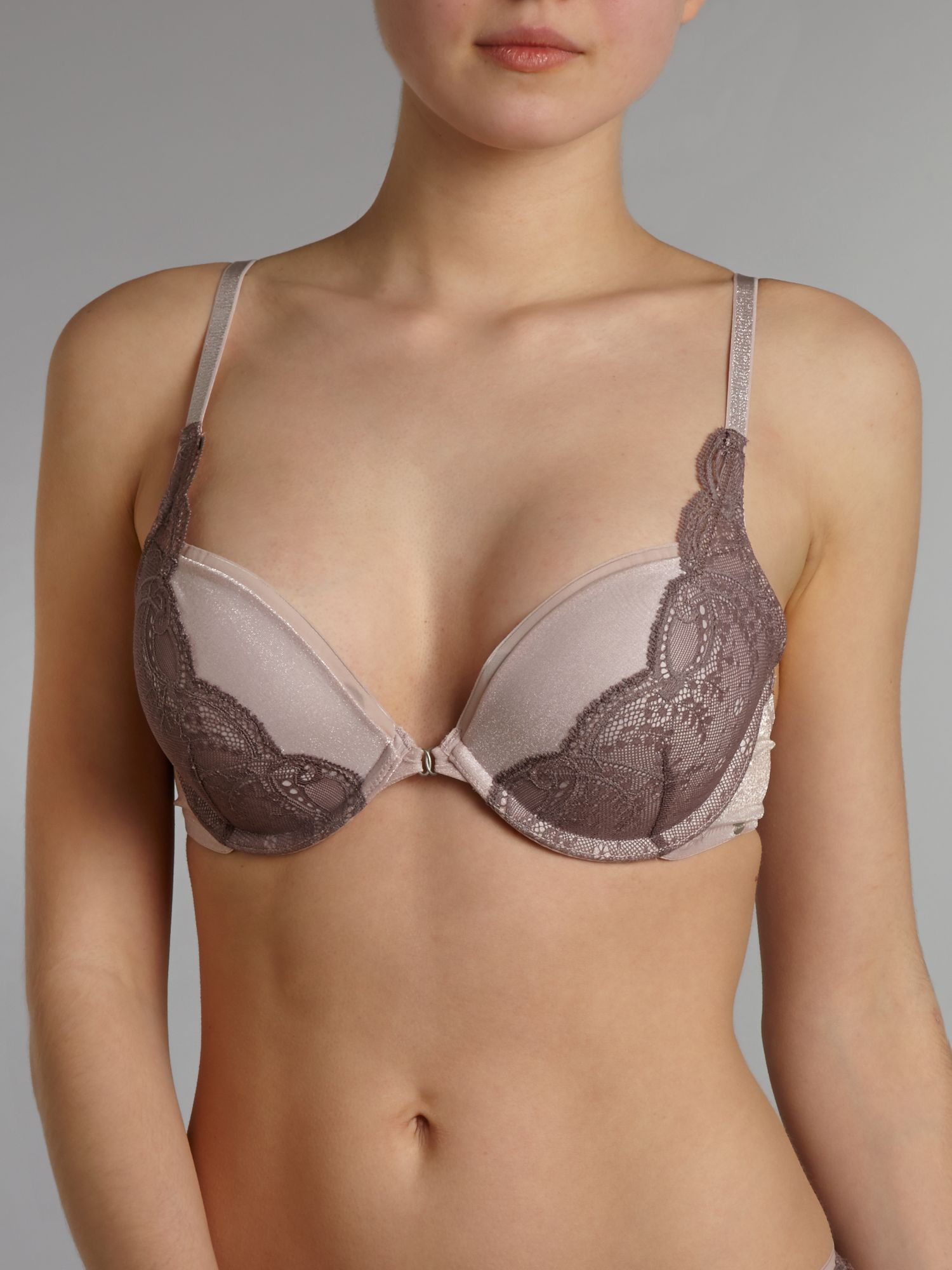 Naked glamour l push up bra