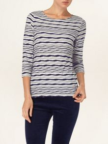 Trinity stripe top