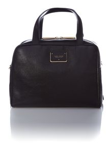 The checkers black bowling bag