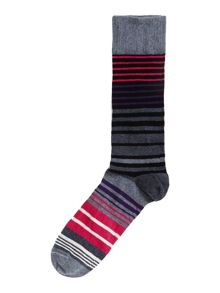 2 pack vegas stripe socks