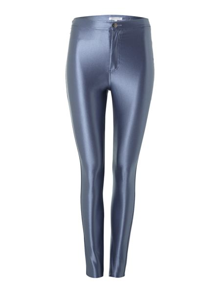 Glamorous High waisted high shine disco leggings