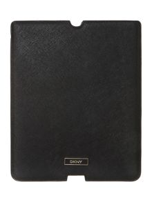 Saffiano black Ipad cover
