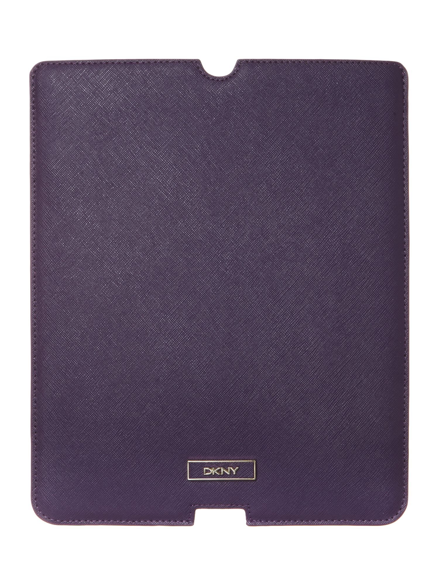 Saffiano purple Ipad cover