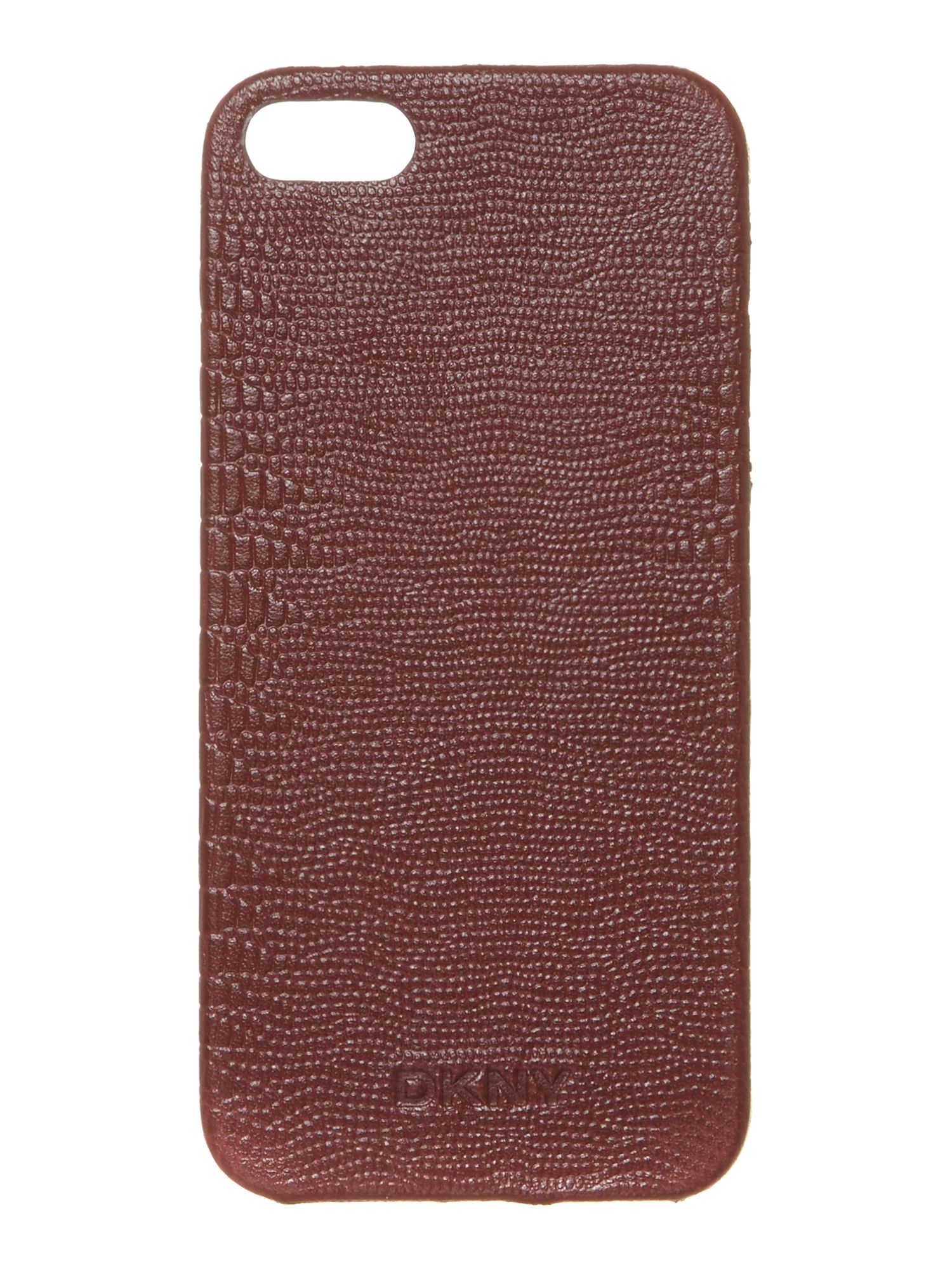 Lizard red leather Iphone case