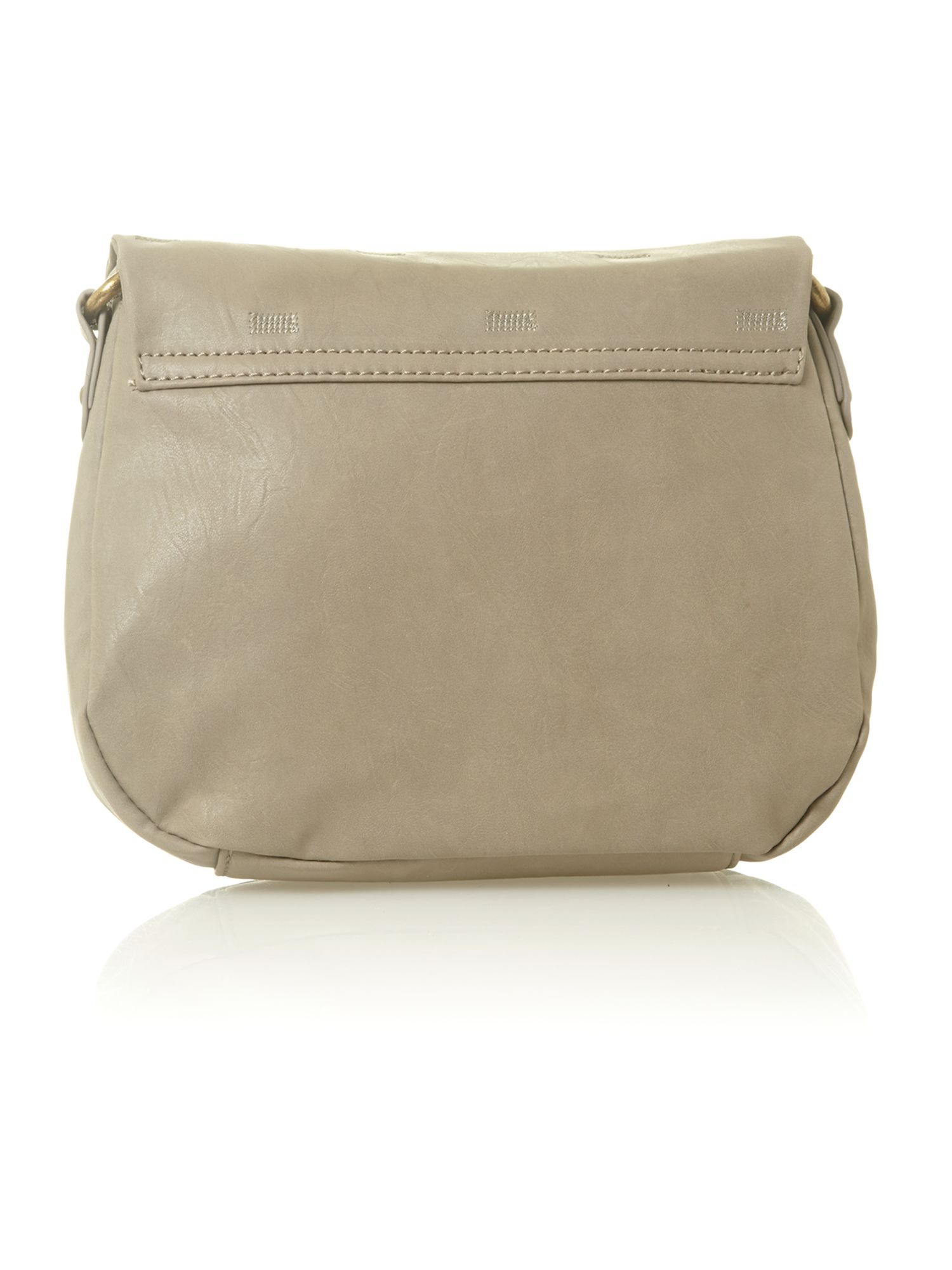Lulu grey cross body bag
