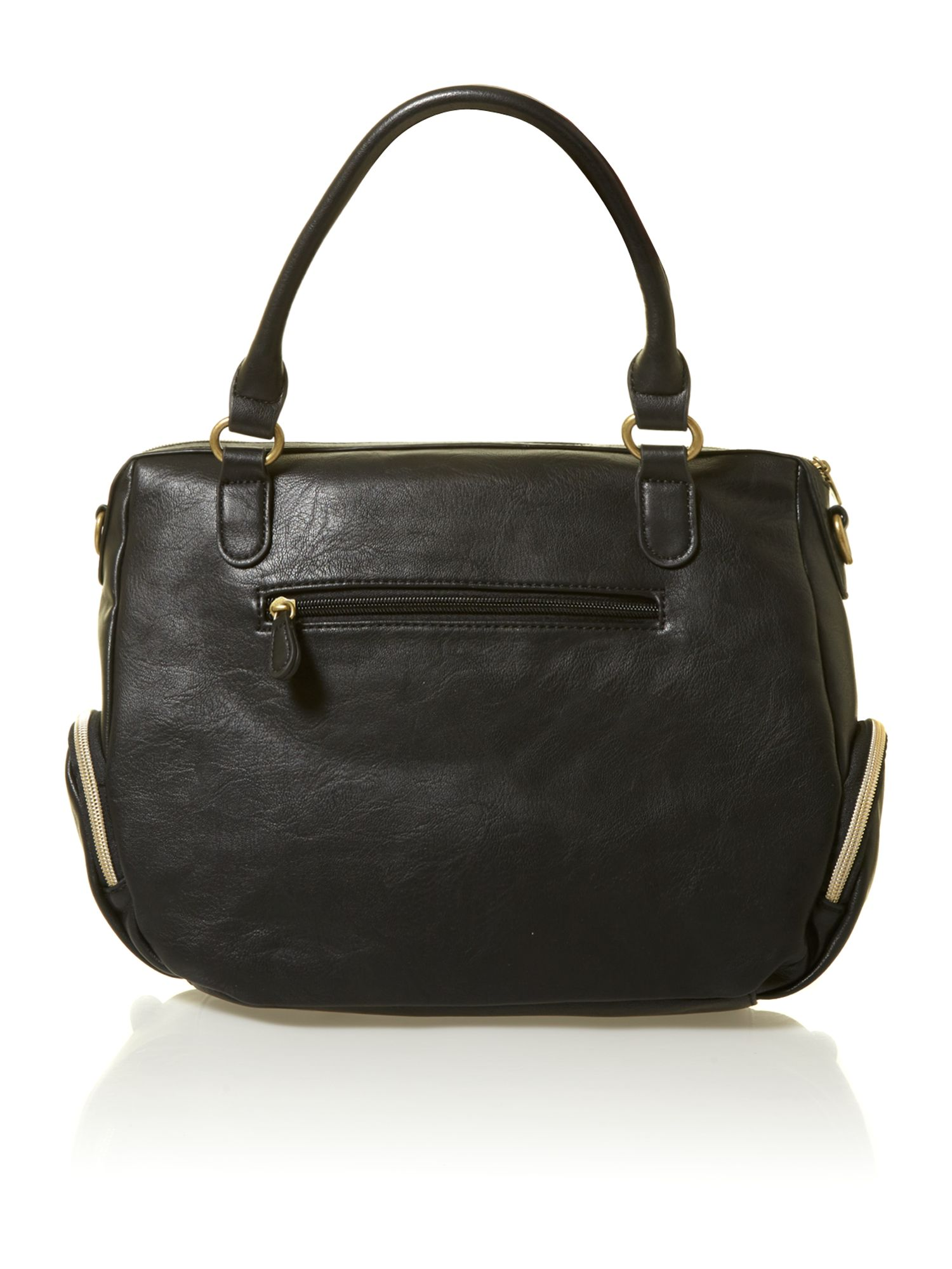 Lulu black shoulder bag