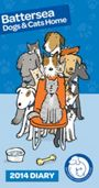 Picture of Battersea dogs and cats home slim diary