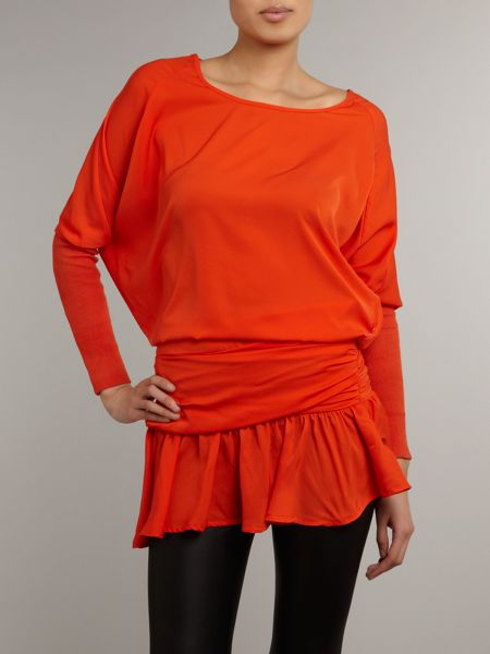 Jolie Moi Oversized batwing tunic top