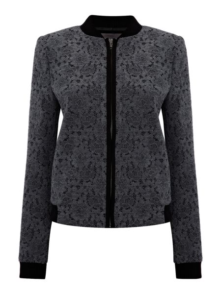 Pied a Terre Lace bomber jacket