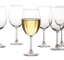 Cuvee wine glasses, 350ml set of 6