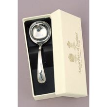 Arthur Price of England Britannia silver plated cream ladle