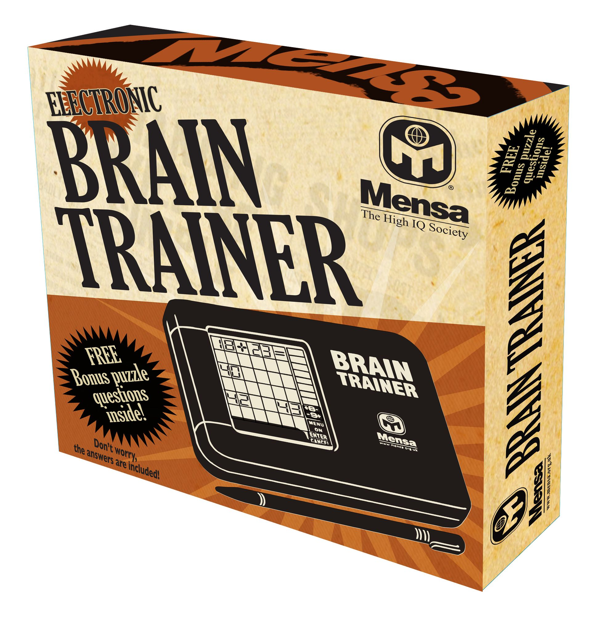 Mensa brain trainer