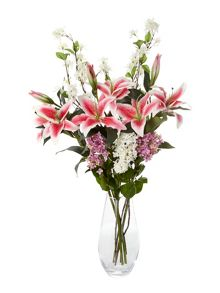 Linea Cream Angel bunch foilage