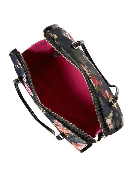 Ted Baker Floral canvas multi-coloured bowling bag