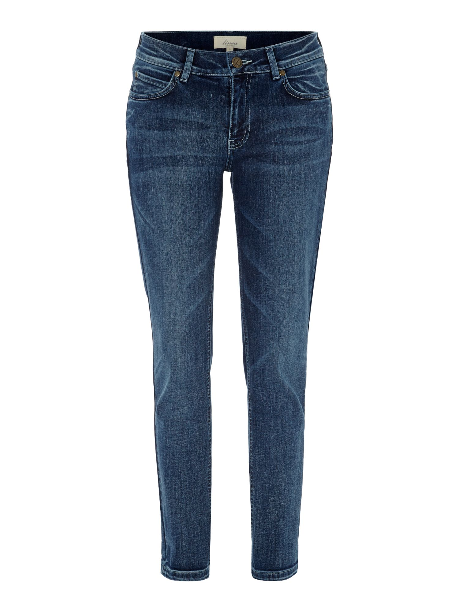 Ladies slim boyfriend jeans