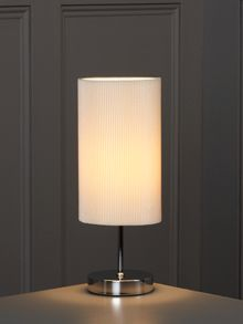 Linea Blaine ivory table lamp