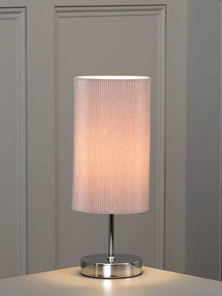 Linea Blaine grey table lamp