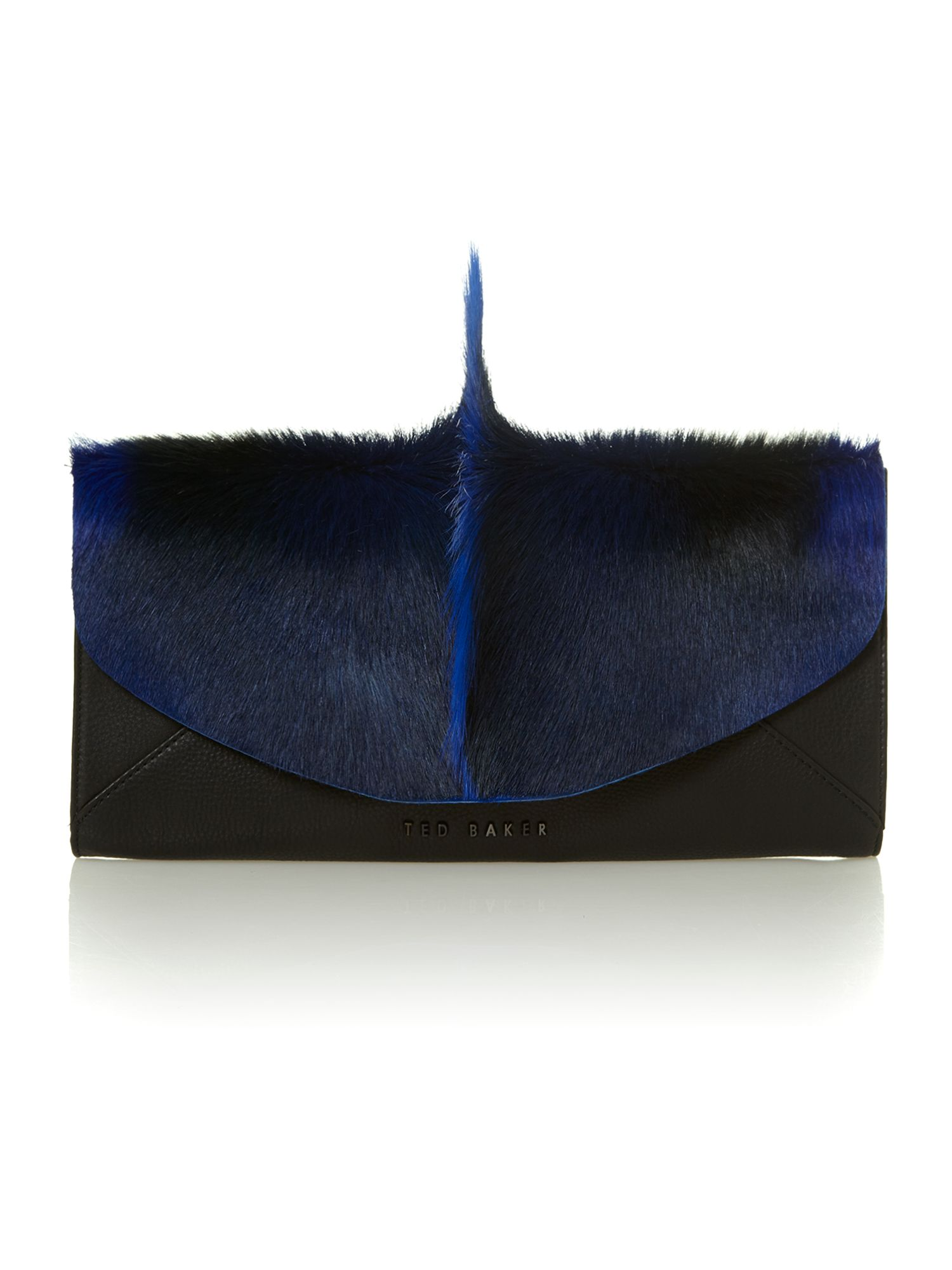 Springbok black clutch bag