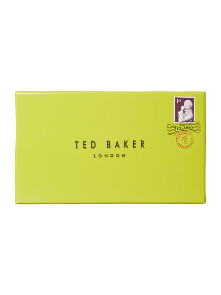 Ted Baker Crystal bow blue flap over purse