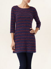 Hattie stripe tunic