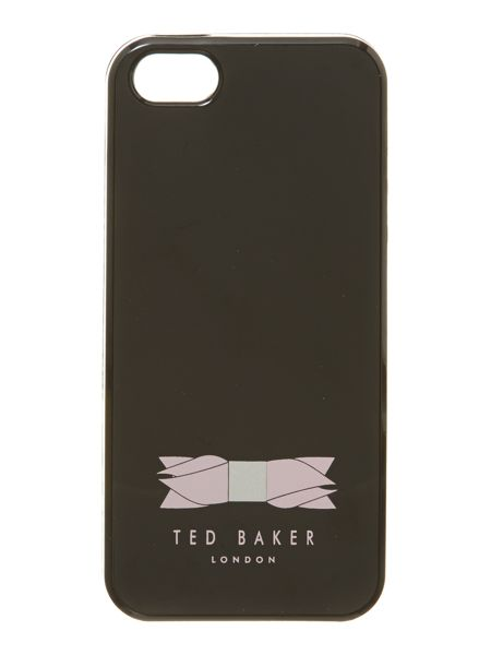Ted Baker Jelly phone black iPhone 5 case