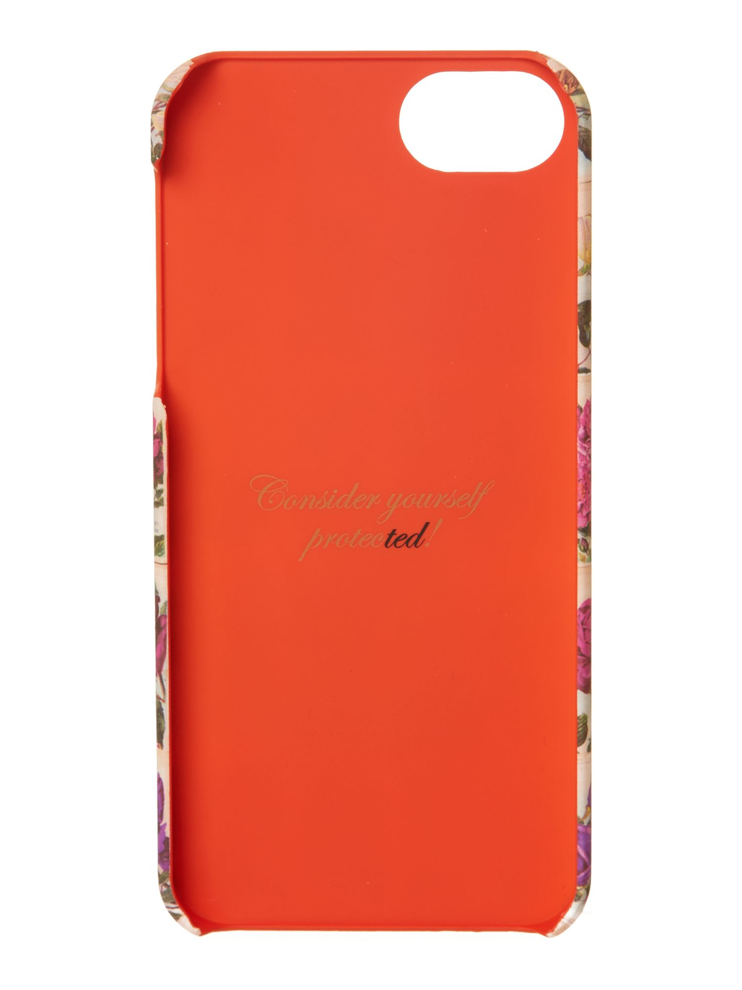 Multi-coloured hard phone case
