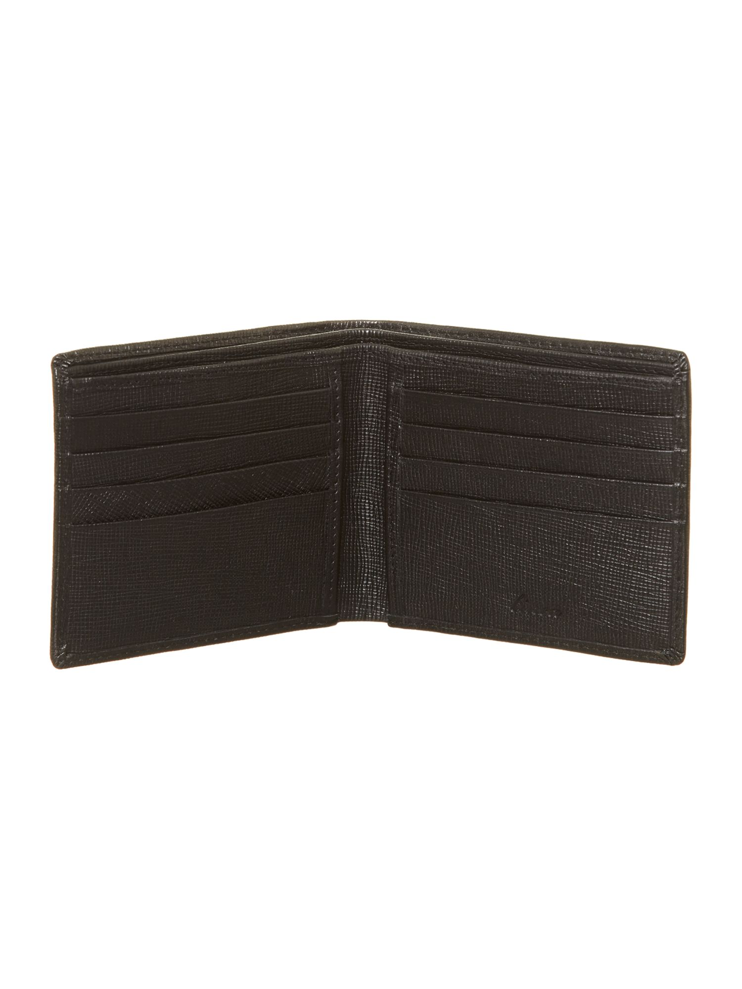 Crossgrain bifold wallet in box