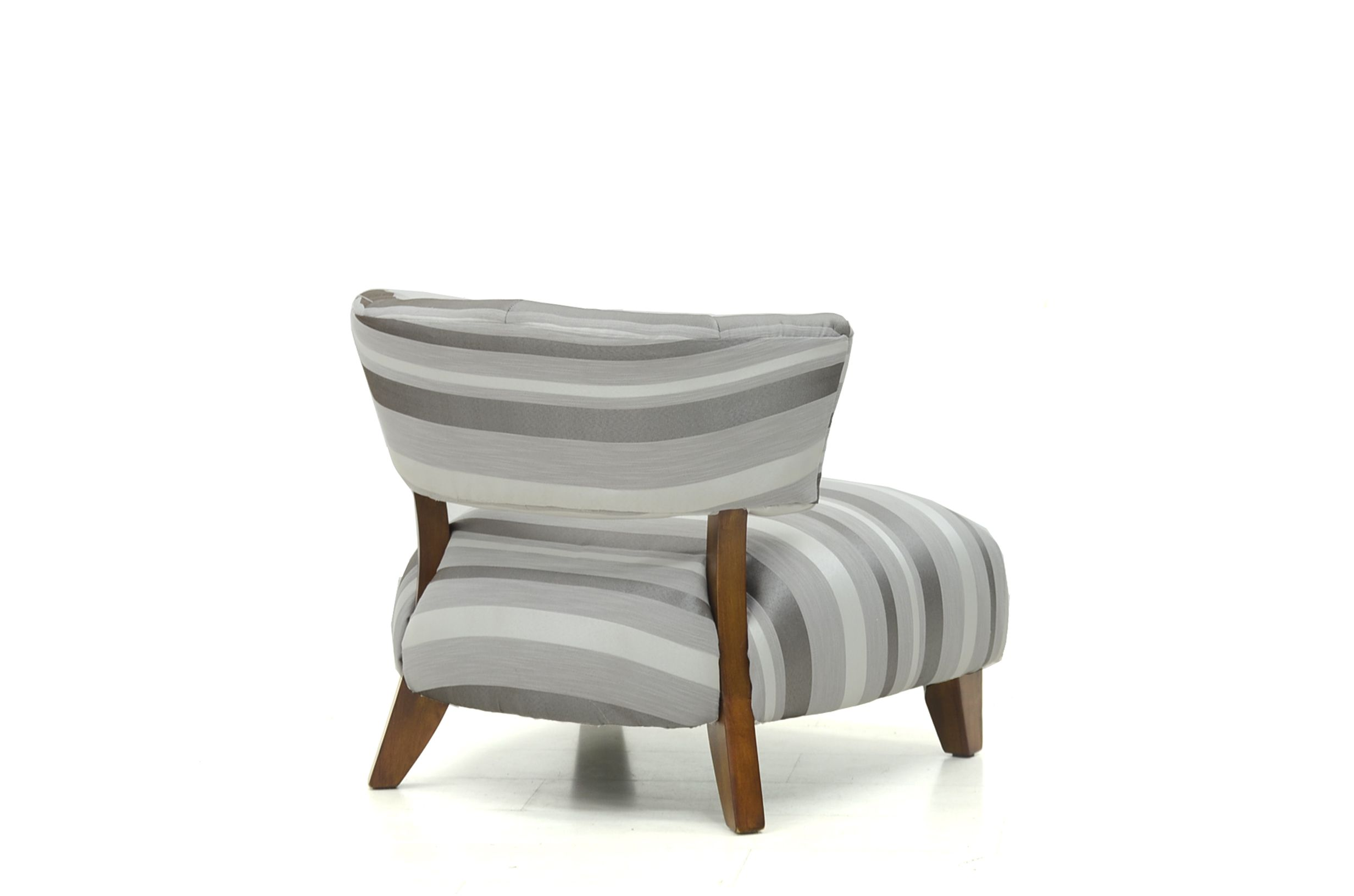 Garda chair in topaz stripe