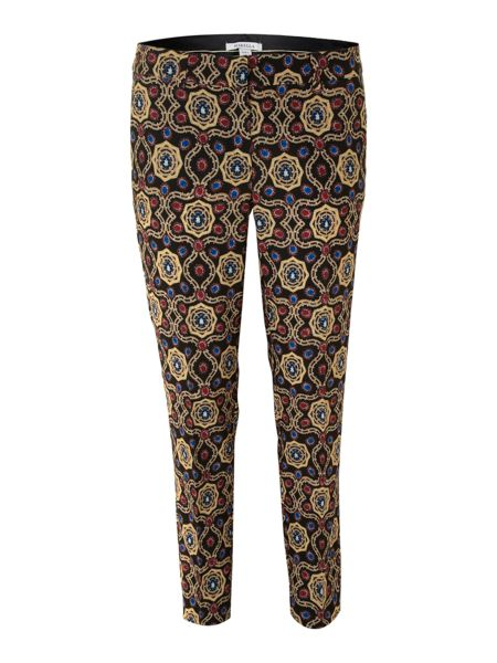 Marella Pesco printed slim trousers