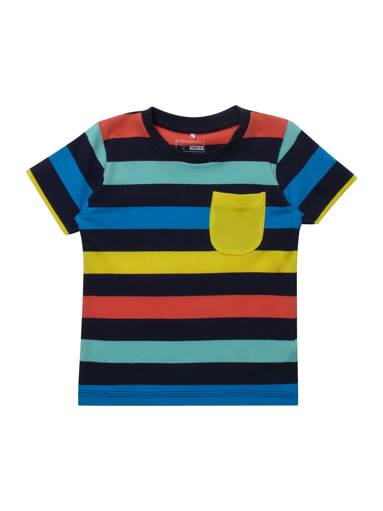 Boy`s multi-stripe T-shirt