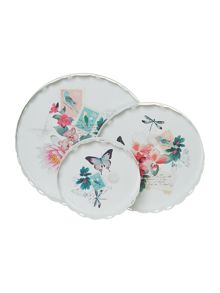 Set of 3 serving trays