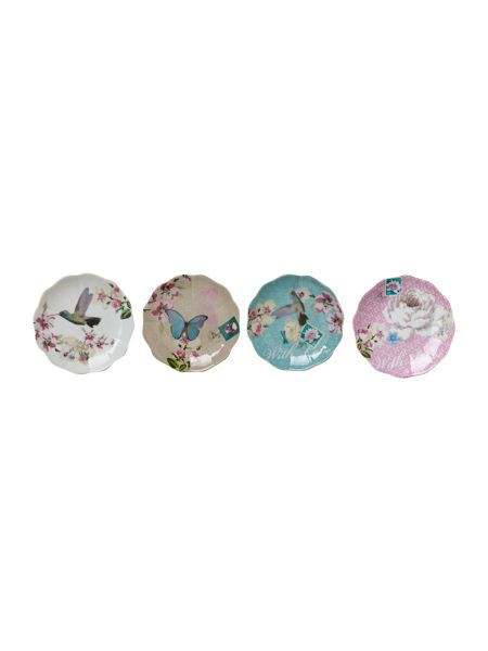Accessorize Petite four dishes set of 4