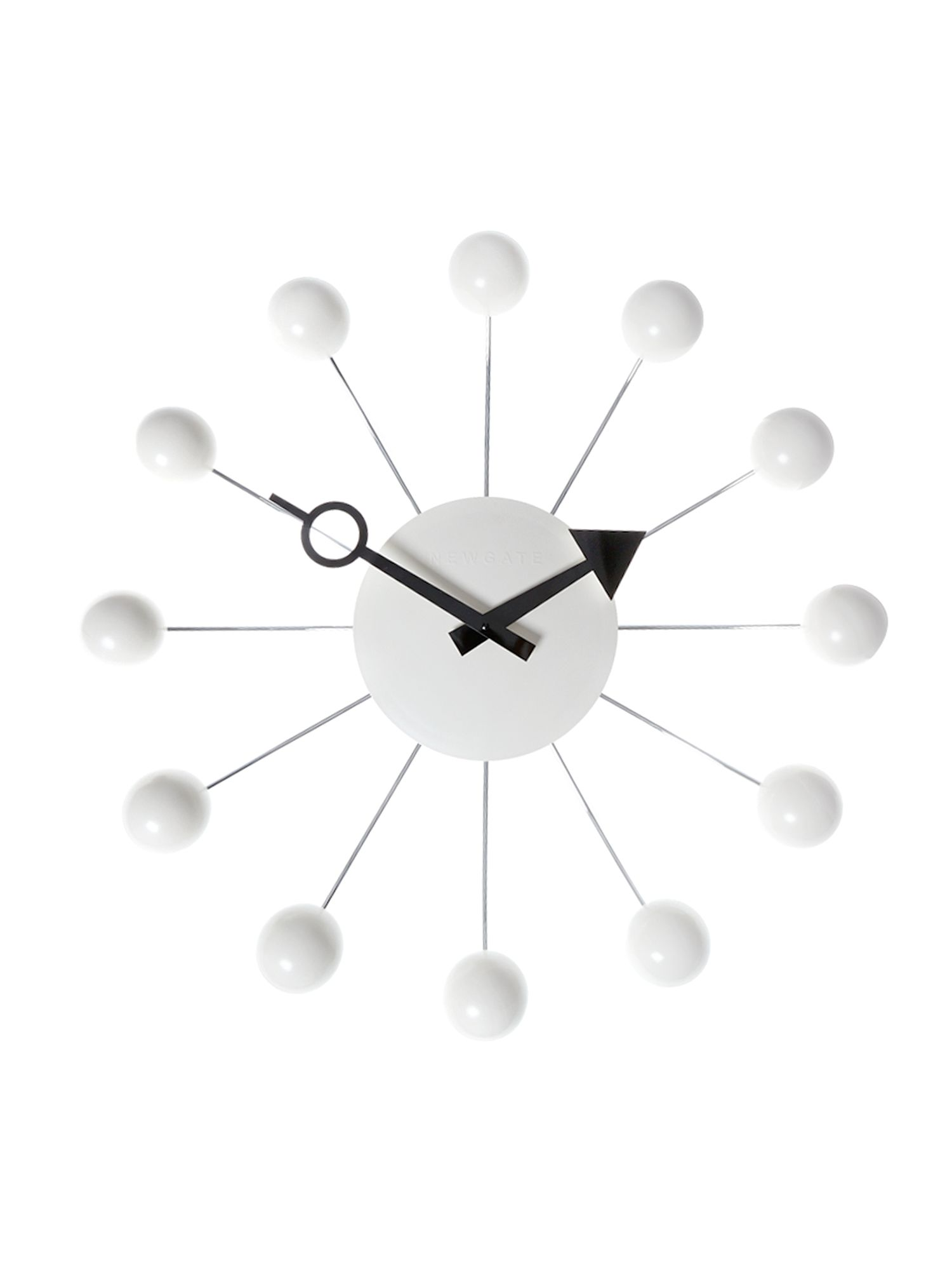 Cream orbital clock