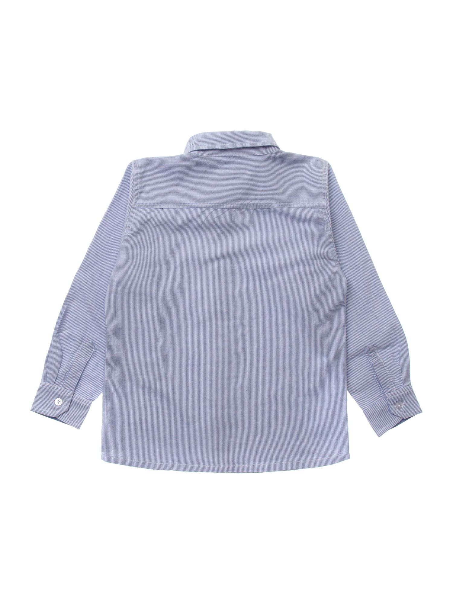 Boy`s long-sleeved oxford shirt