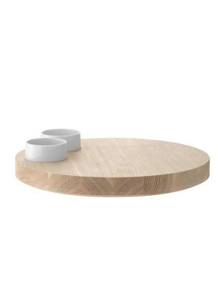 LSA Lotta serving platter and ash base 29cm