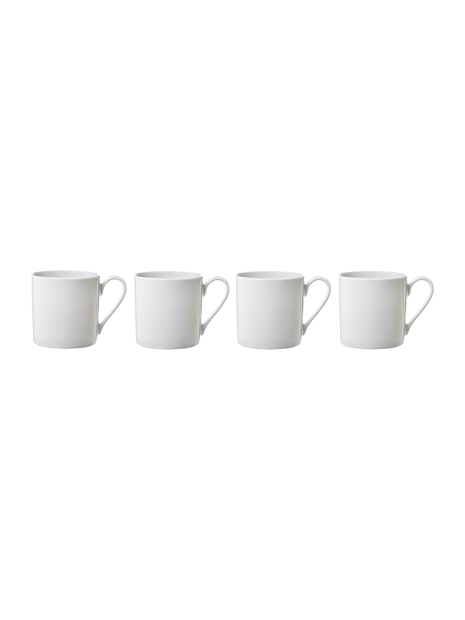 Set of 4 dine mug large