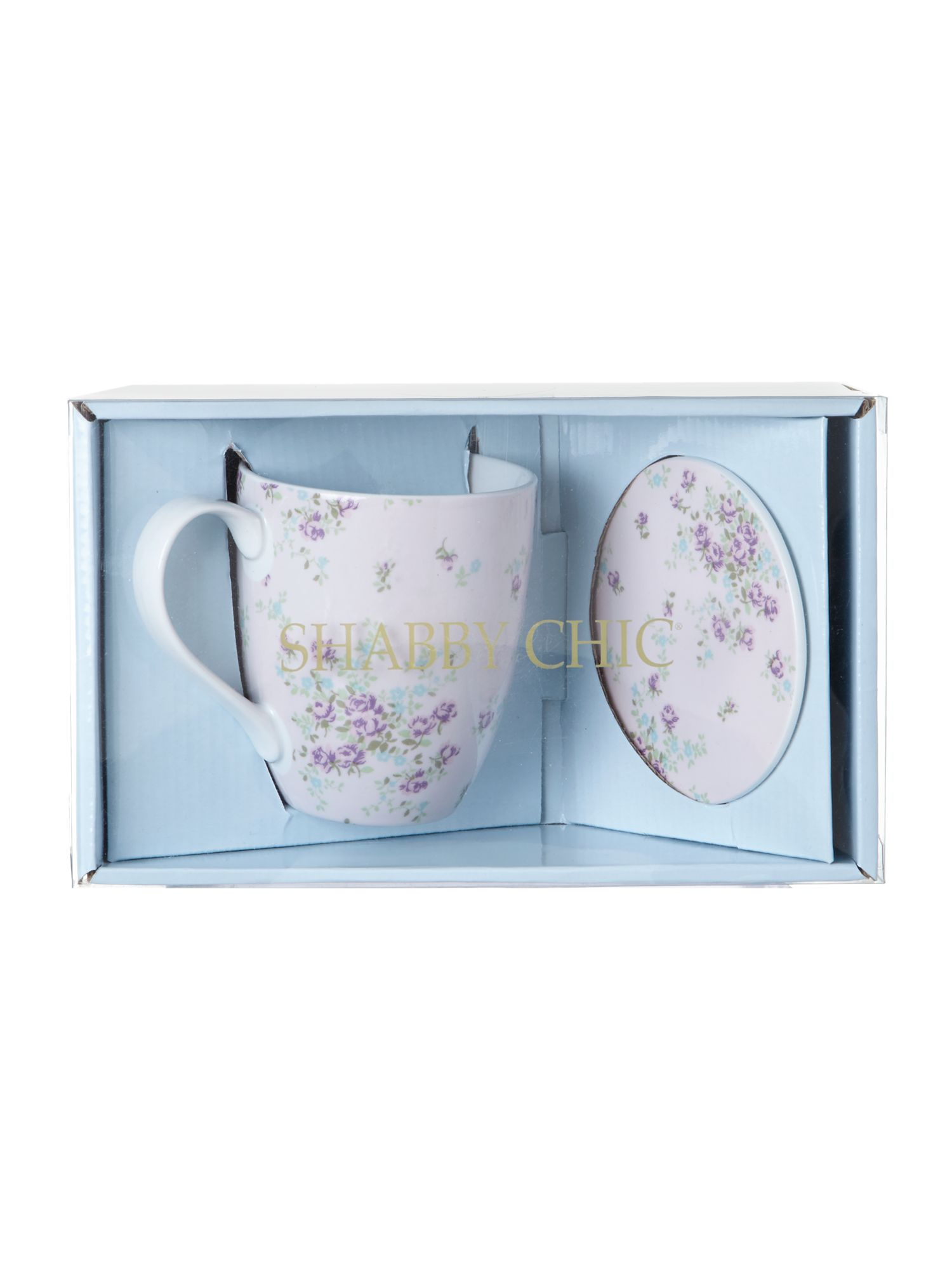 Mug and coaster gift set