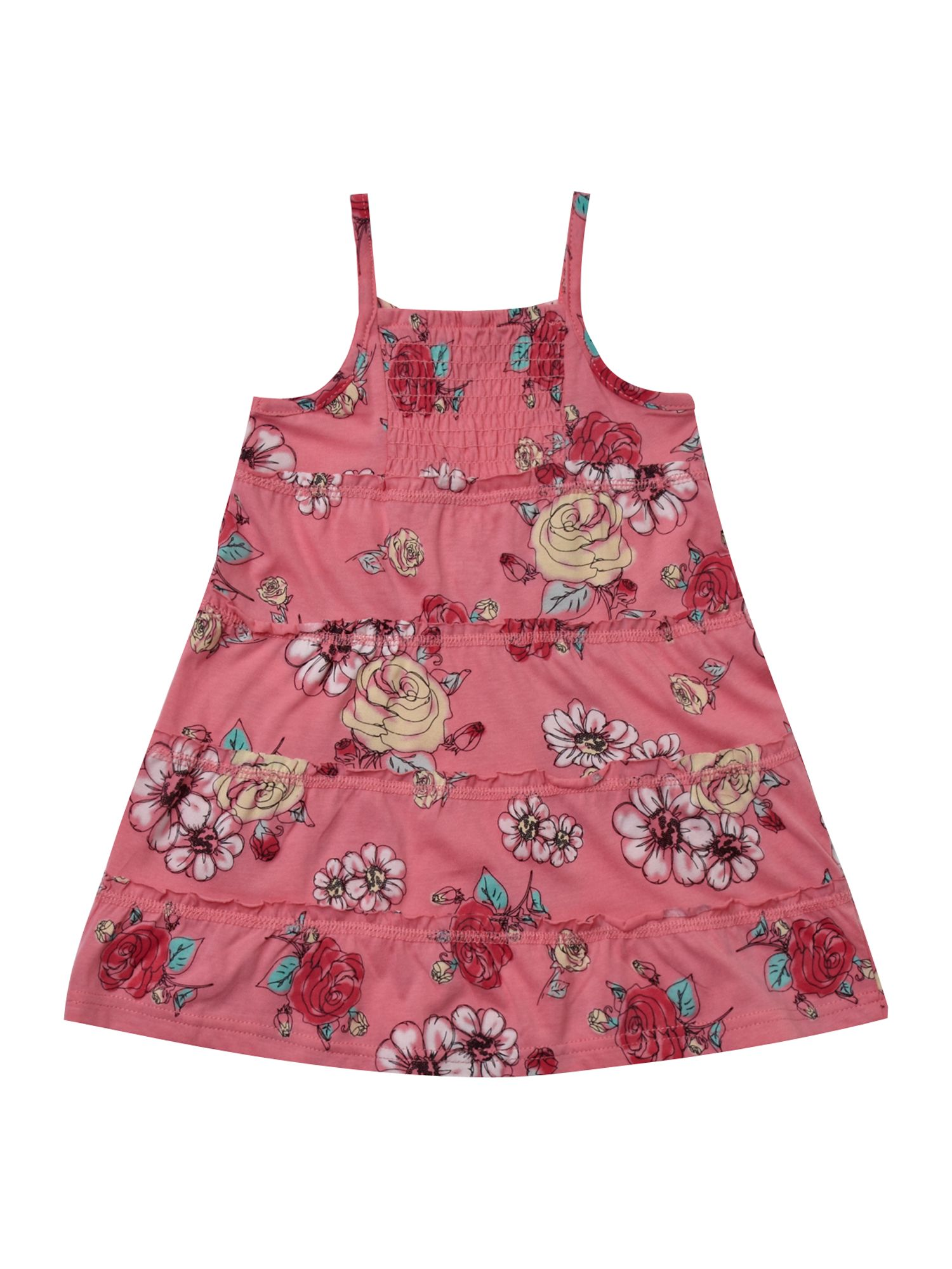 Girl`s floral summer dress