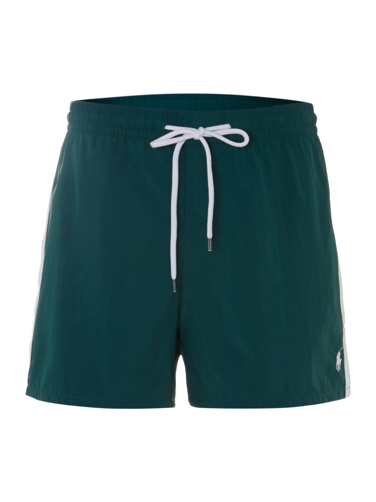 Side stripe swim short