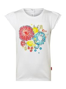 Girl`s bow graphic T-shirt