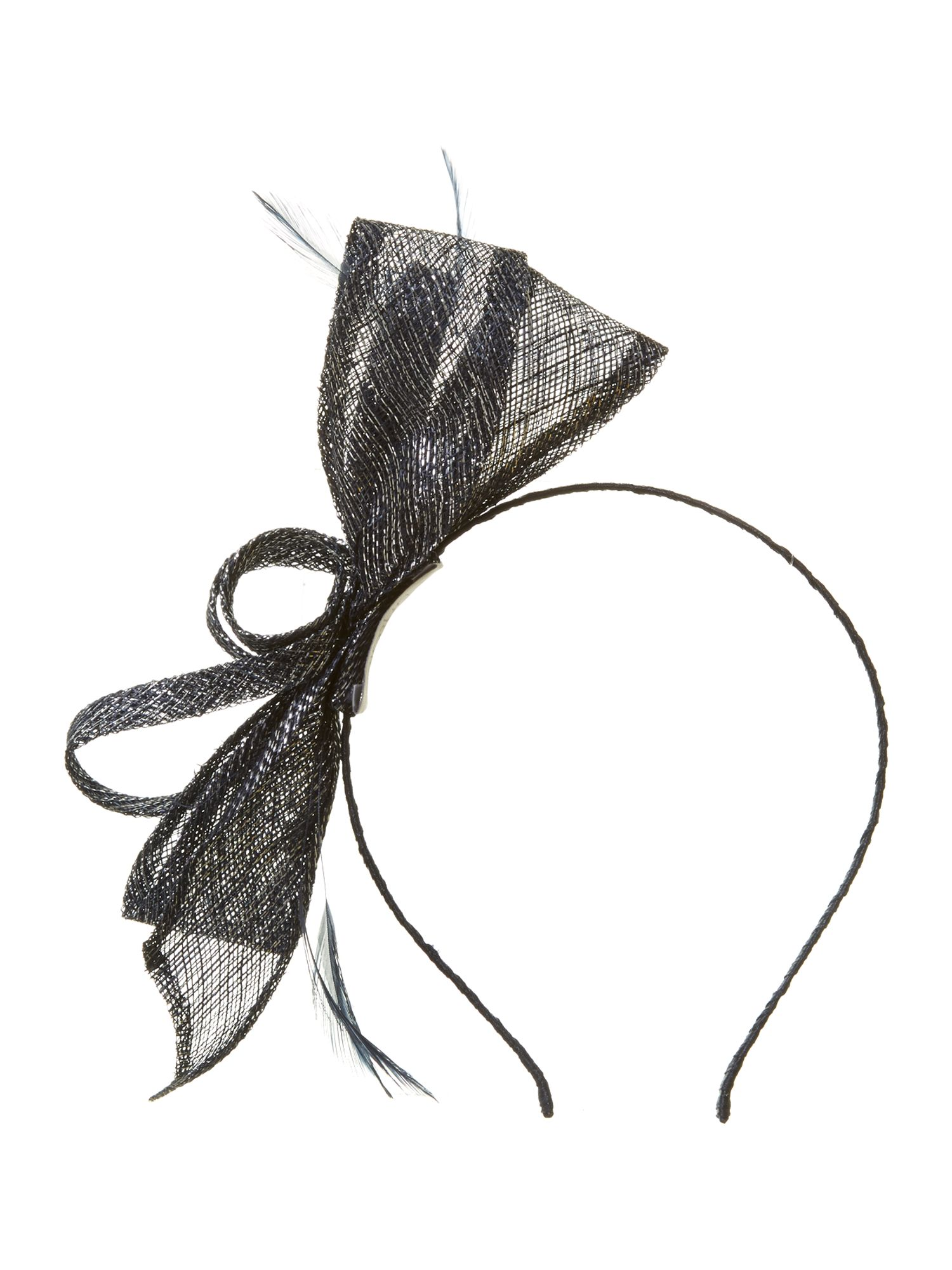 Jenny lurex fascinator