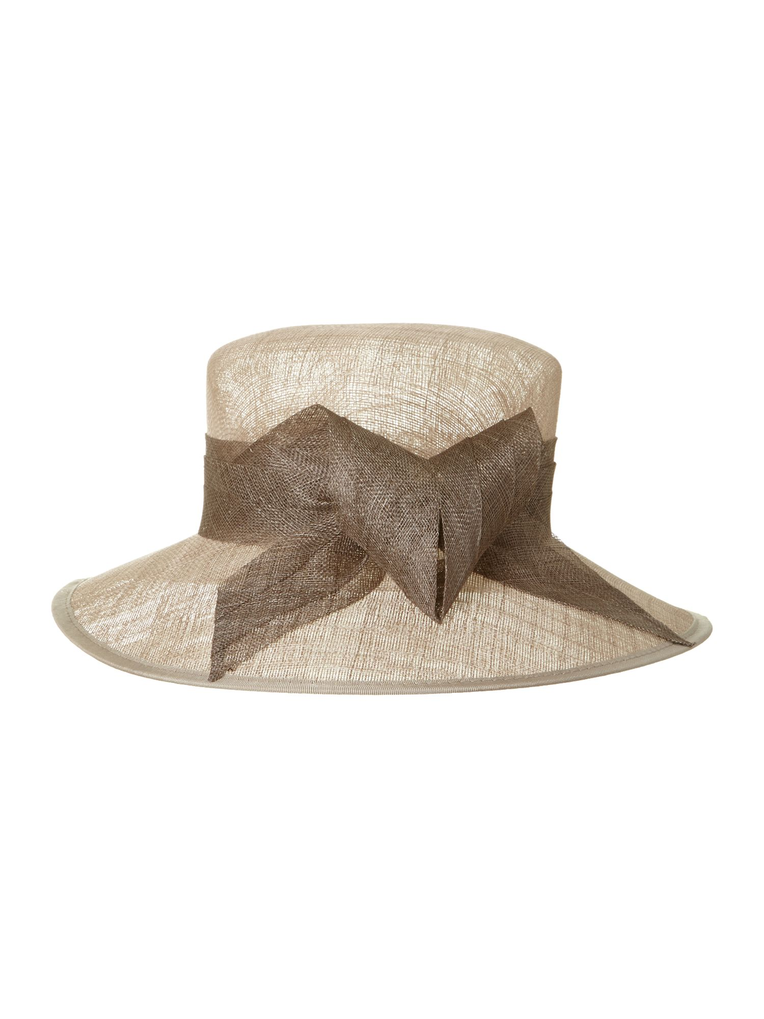 Lynette hat with statement bow