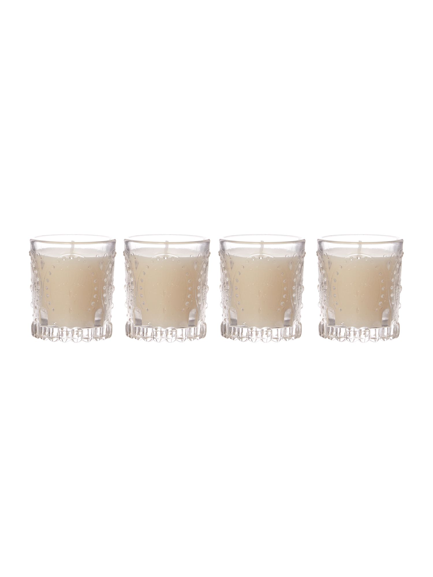 Set of 4 mini votives