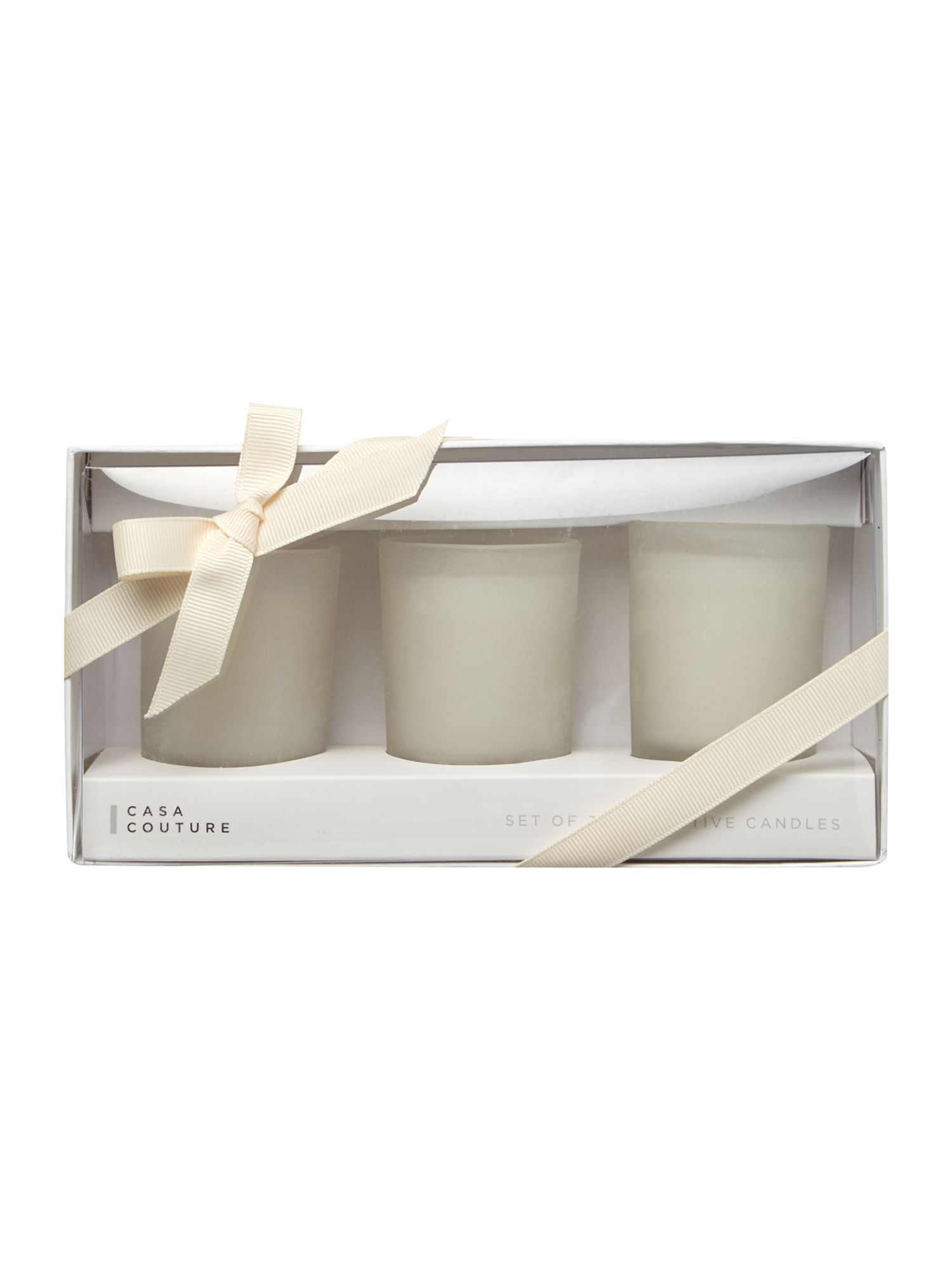 Spa mini votive trio