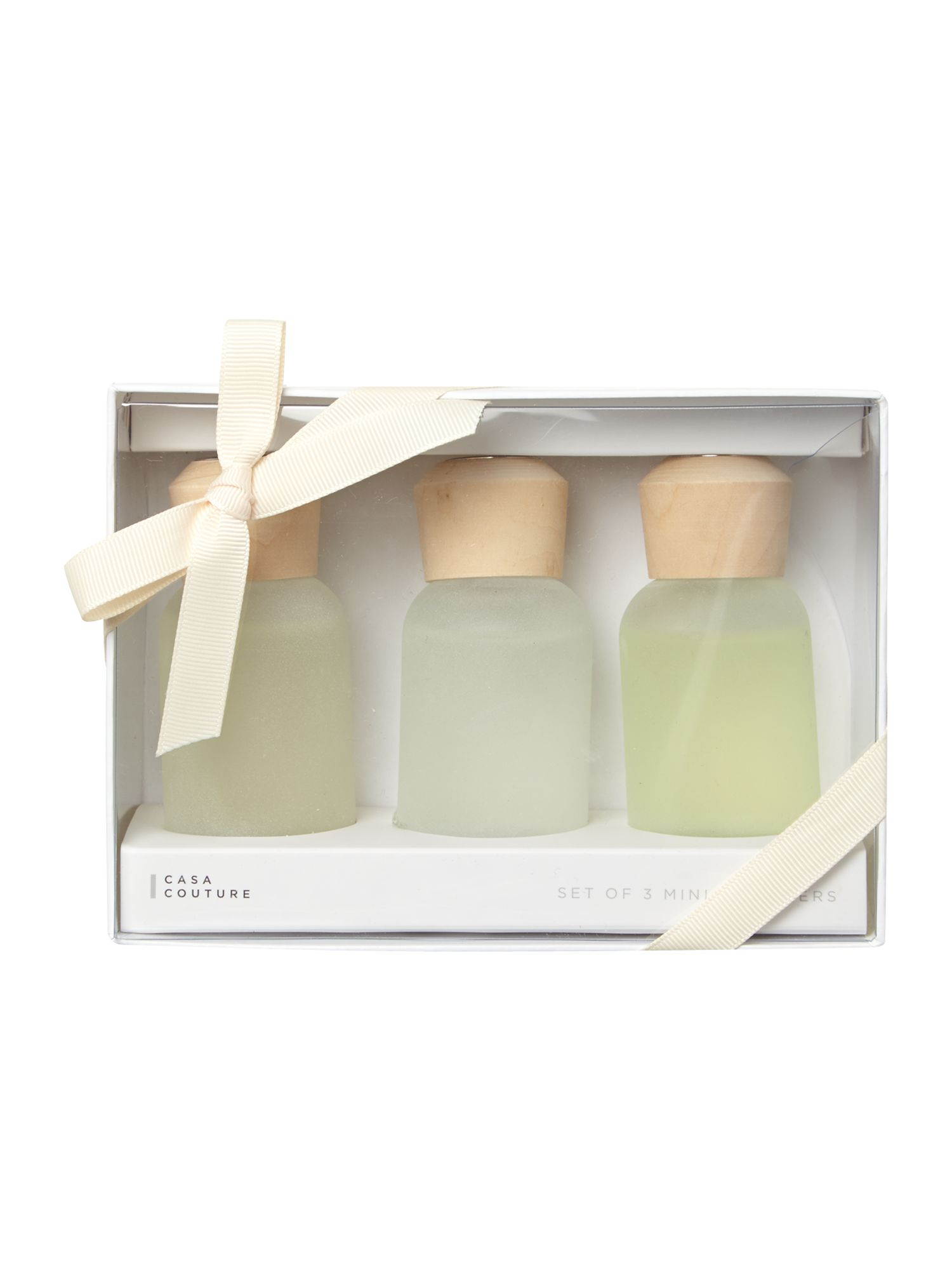 Spa mini diffuser trio