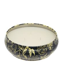 Iris & vetiver large tin candle