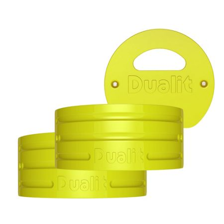 Dualit Citrus yellow Architect kettle panel set