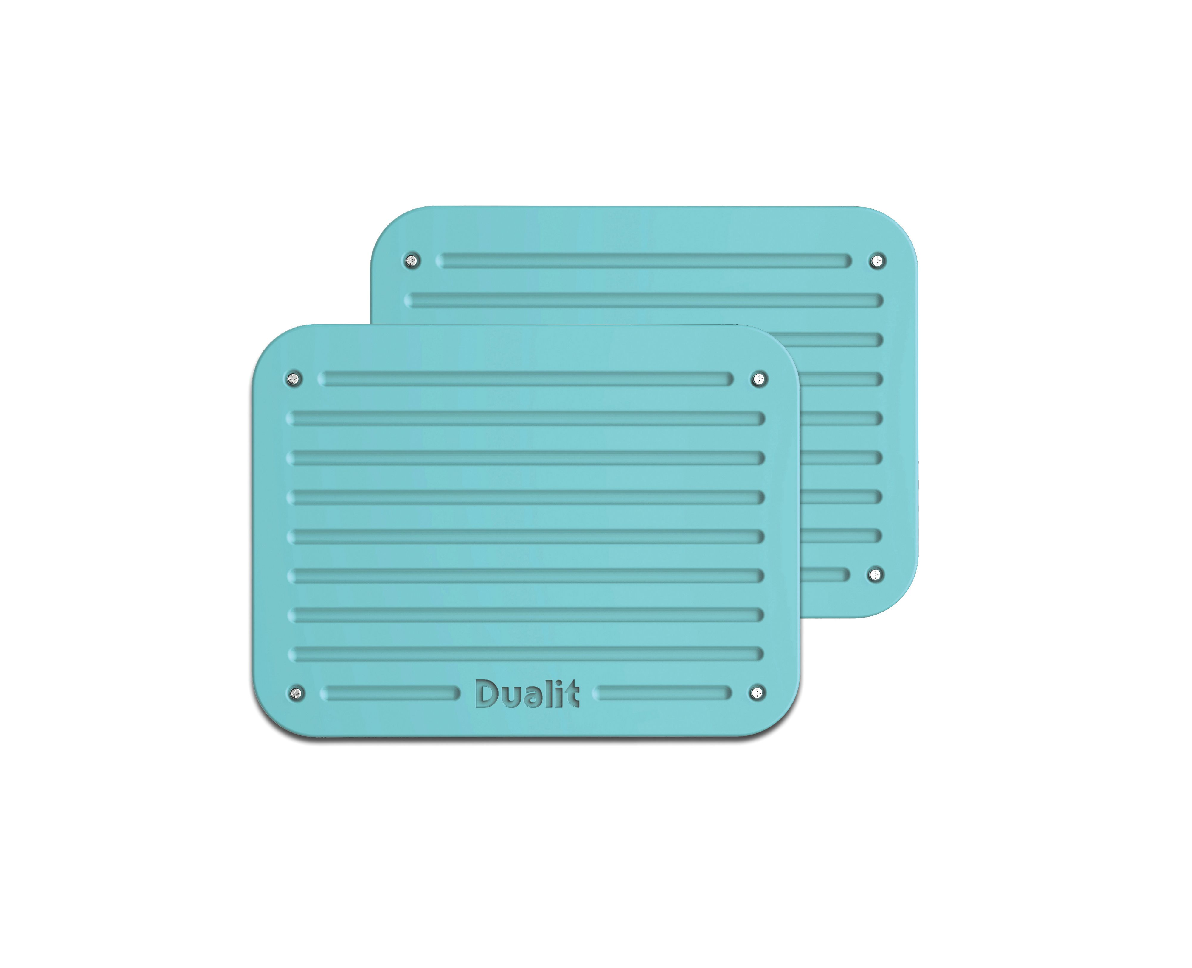 Azure blue Architect toaster panel set