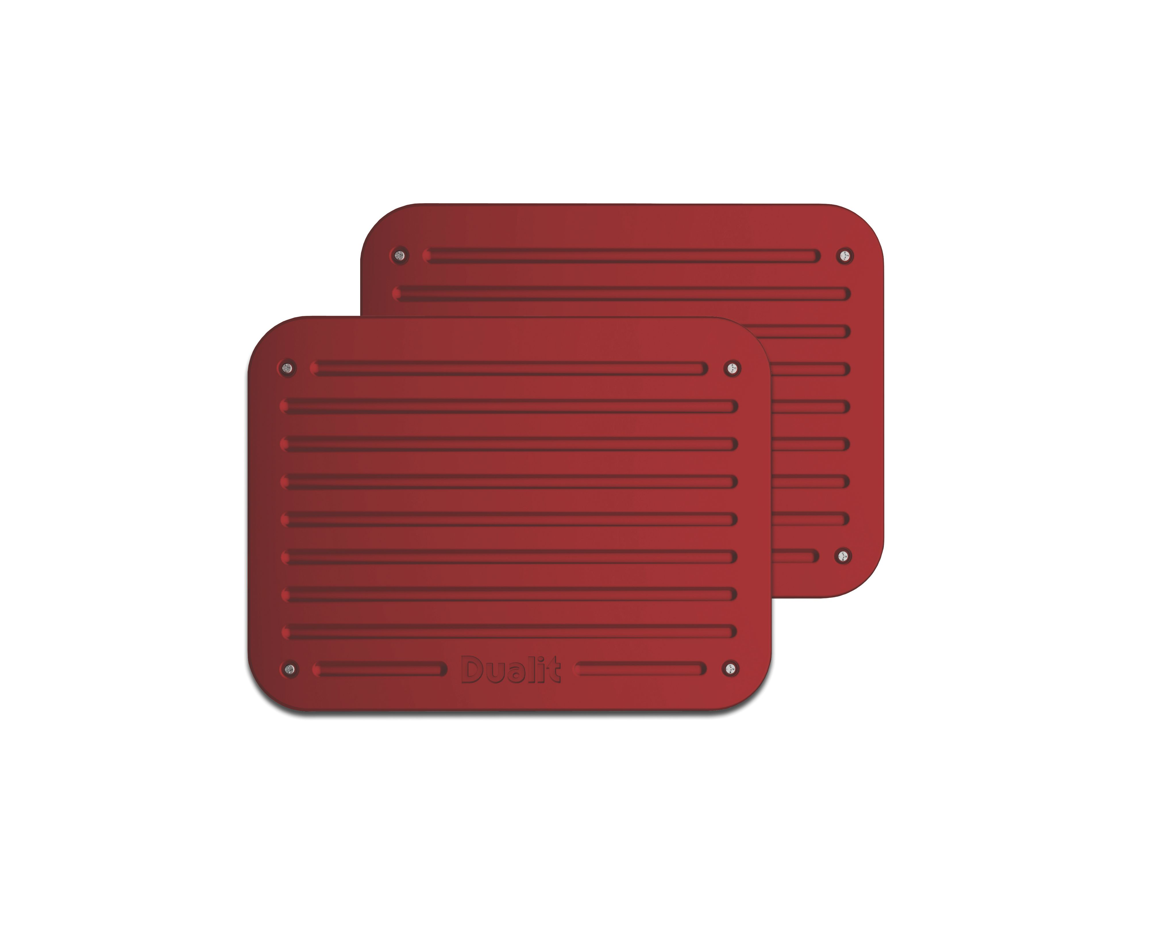 Candy apple red Architect toaster panel set